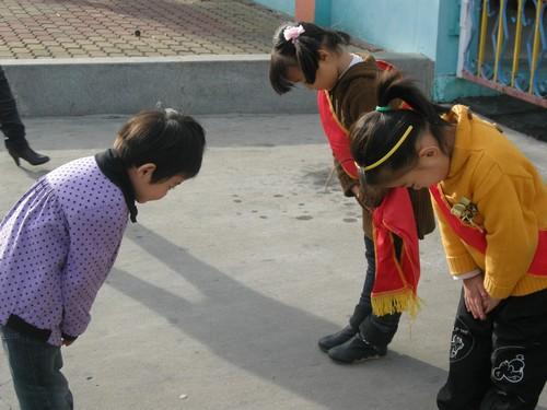 三园礼仪教育