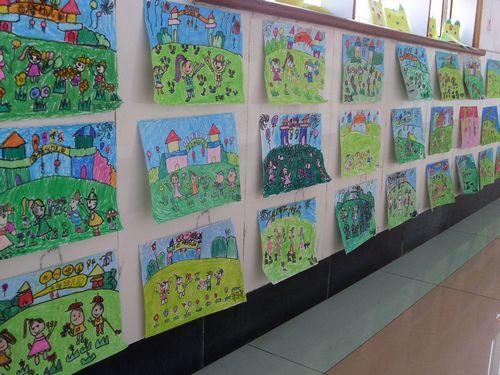 西楼幼儿园环境创设-西楼幼儿园