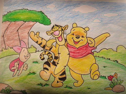 西楼三园教师绘画大赛展才华-西楼幼儿园